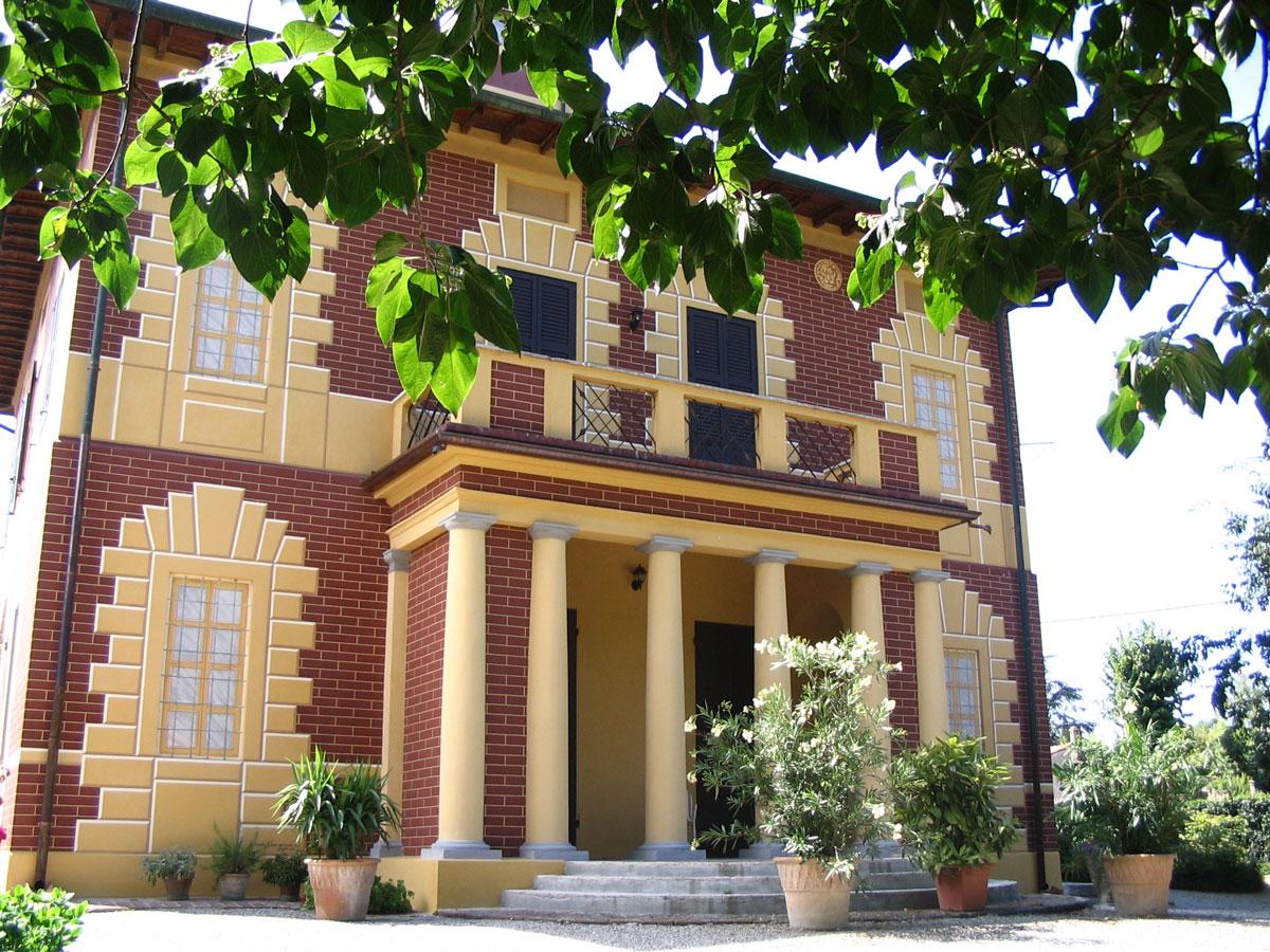 Rivarolo del Re ed Uniti   Villa Diotti o Bergamaschi